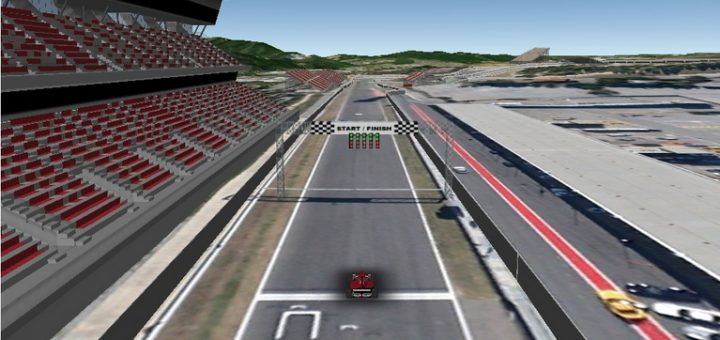 Formel 1 - Browserspiel in Google Earth