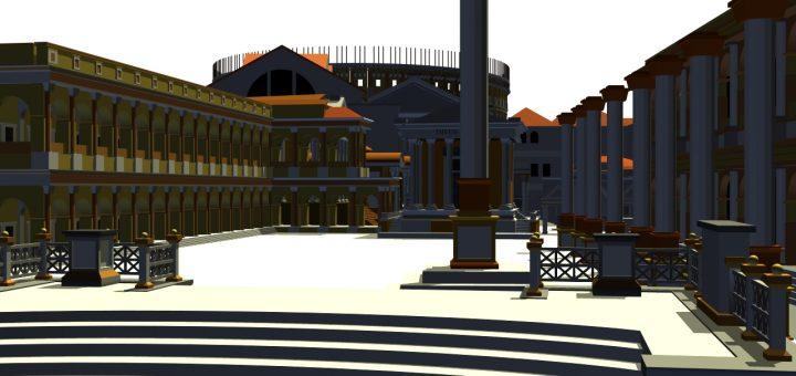 Foro Romanum in 3D