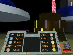 Cockpit des UFOs