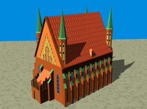 3D Visualsierung des Frauenburger Doms
