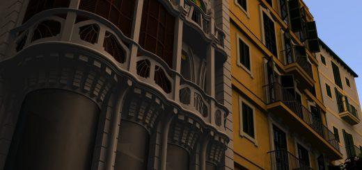 Stadhäusern von Palma de Mallorca
