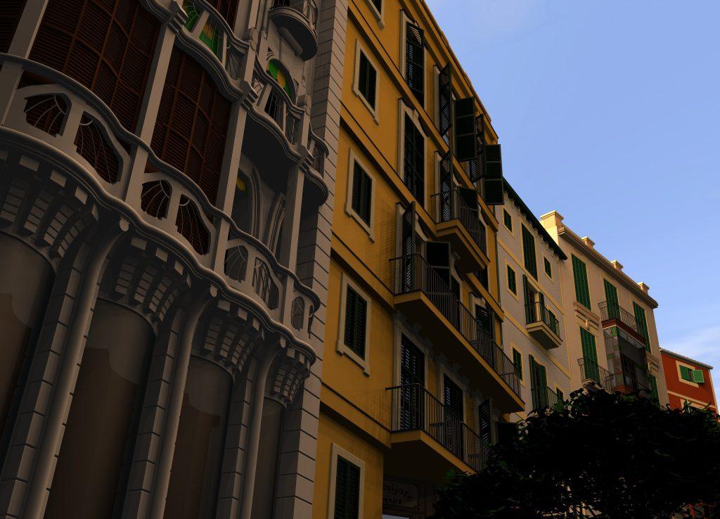 "Detailansicht des Projekts ""Spanish House"""